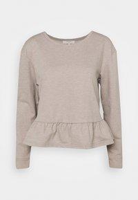 Cream - Sweatshirt - silver mink - 0