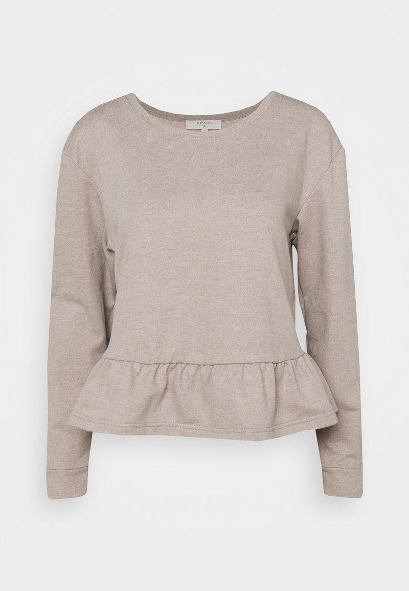 Cream - Sweatshirt - silver mink