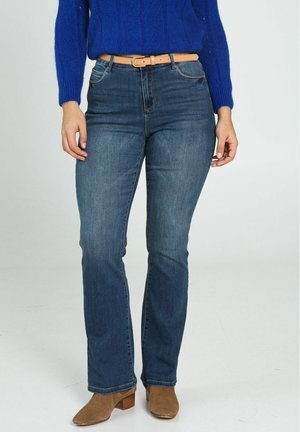 Flared Jeans - denim