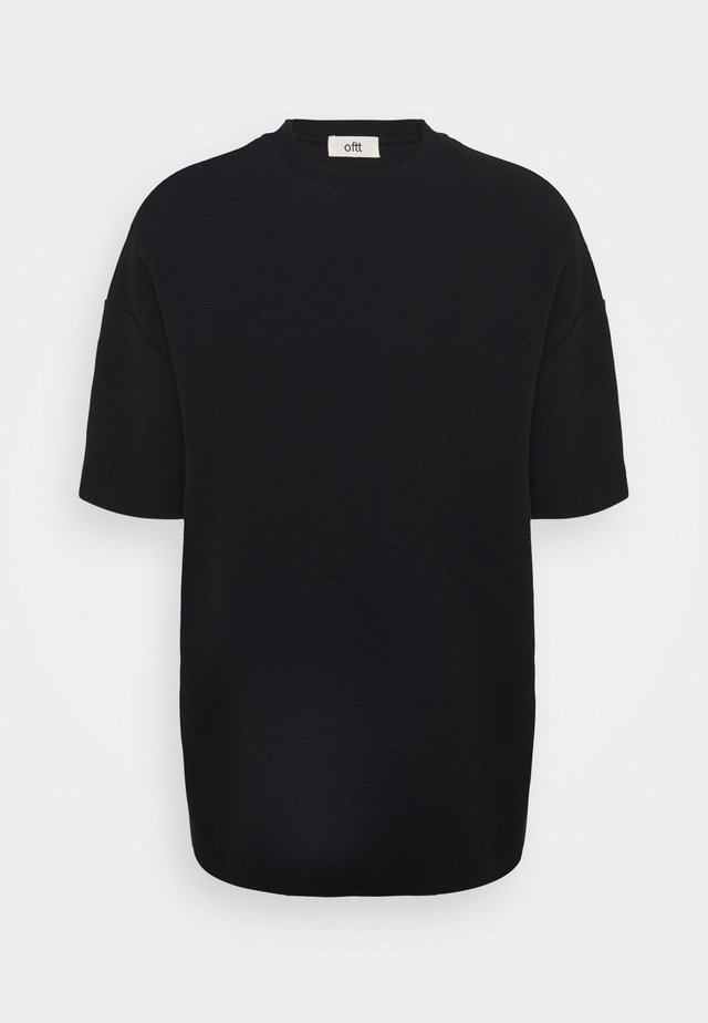 OVERSIZED - T-shirt basique - black