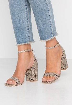 RAELYNN - Sandály na vysokém podpatku - beige