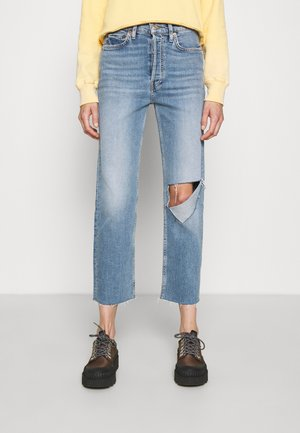 70S HIGH RISE STOVE PIPE - Relaxed fit jeans - brisk blue
