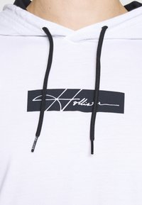 Hollister Co. - ICONIC HOODS  - Long sleeved top - white - 3