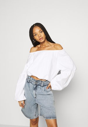 POPLIN BUBBLE - Blouse - white