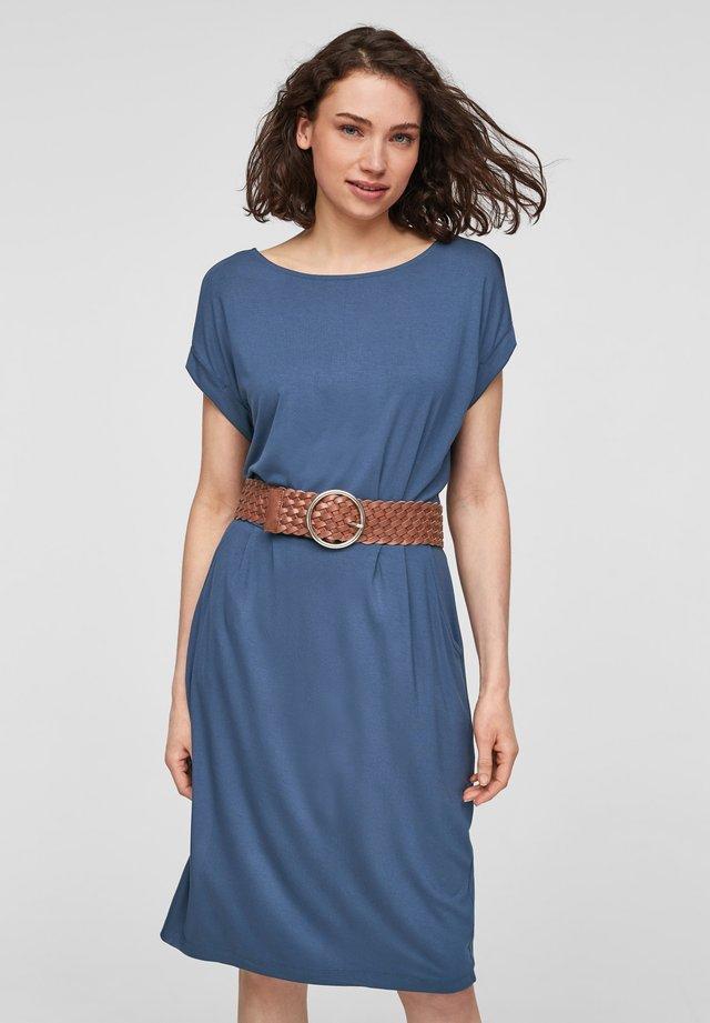 Korte jurk - faded blue