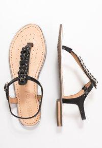 Geox - SOZY PLUS - T-bar sandals - black - 3