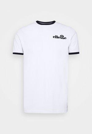 MEDUNO RINGER - T-shirt imprimé - white