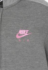 Nike Sportswear - Felpa aperta - carbon heather - 3