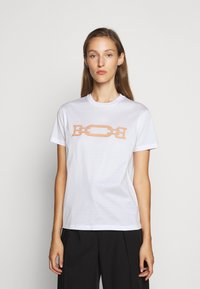Bally - MACHINE WASHABLE PATCH TEE - Print T-shirt - white - 0