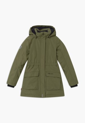 GIRLS ALESUND COAT - Down coat - khaki green