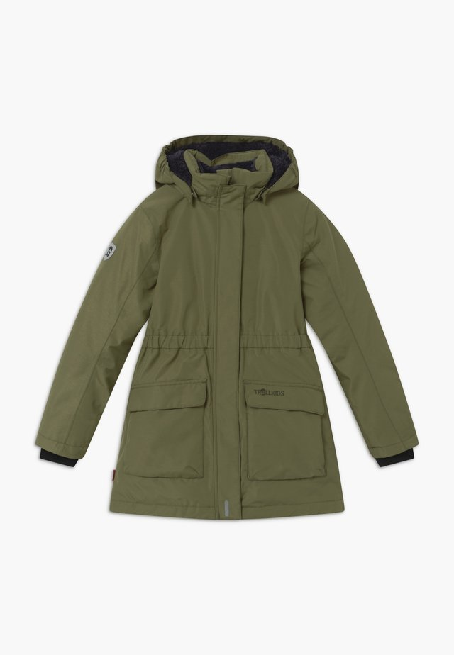 GIRLS ALESUND COAT - Donsjas - khaki green