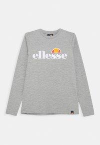 Ellesse - YANDIA UNISEX - Long sleeved top - grey - 0
