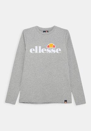 YANDIA UNISEX - Long sleeved top - grey