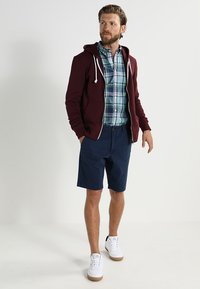Pier One - Sweatjacke - bordeaux melange - 1