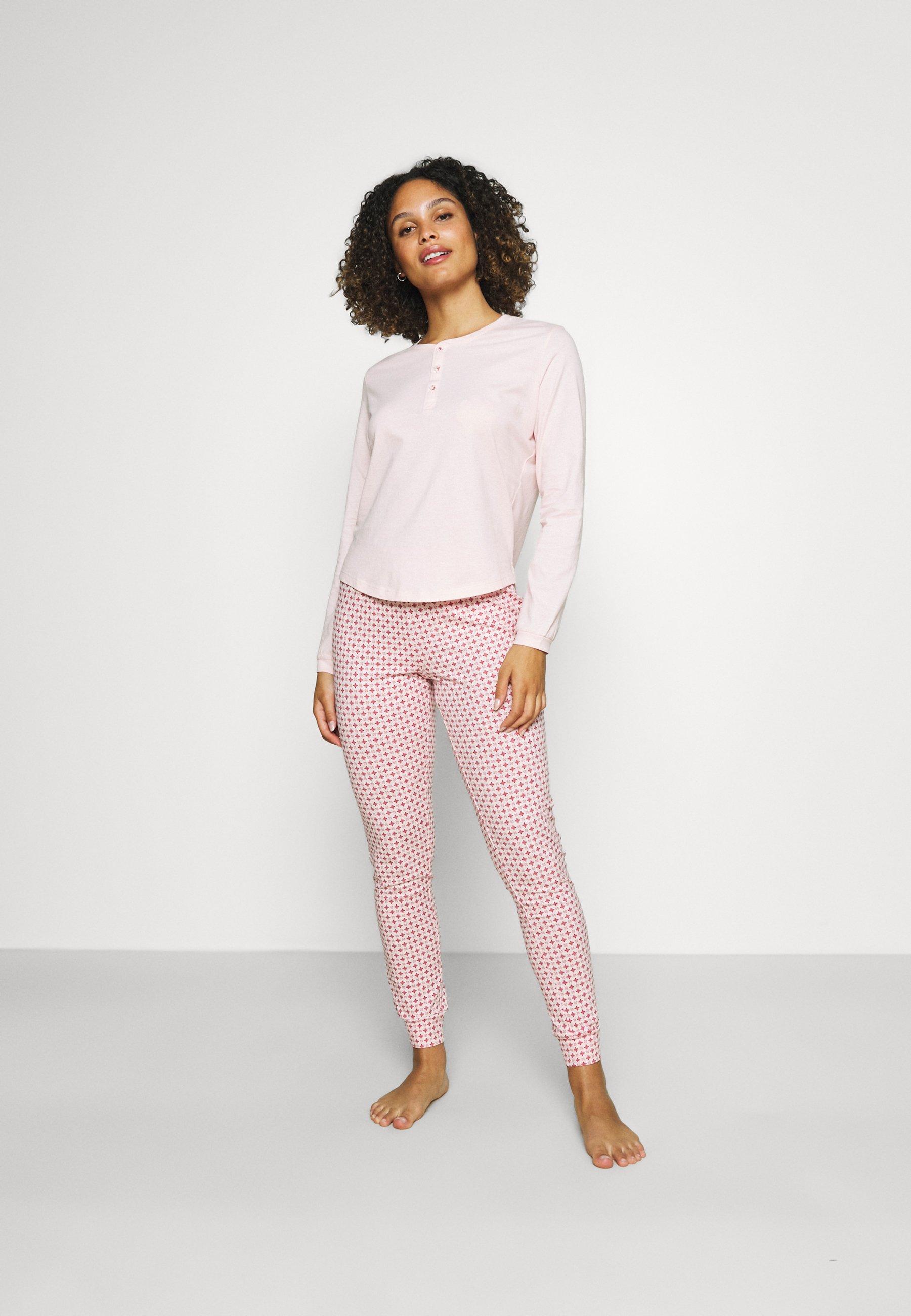 Damen GLENICE  LONGSLEEVE LONG PANTS - Pyjama