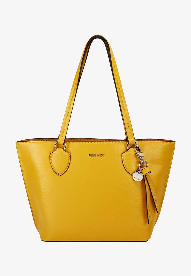 Shopping bag - dark yellow