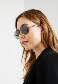 Tommy Hilfiger - Sluneční brýle - dark grey - 2
