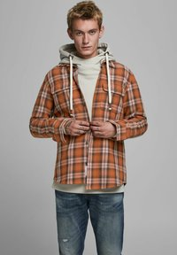 Jack & Jones PREMIUM - OVERSHIRT - Košile - burnt henna - 0