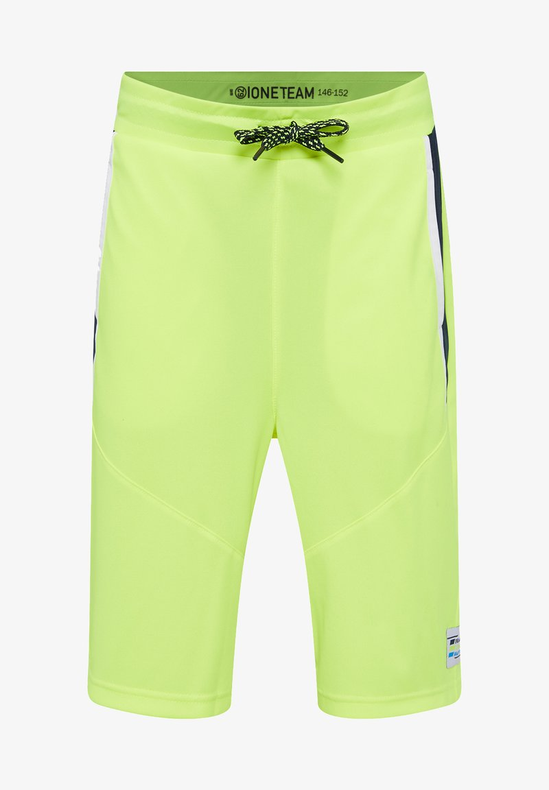 WE Fashion - Shorts - bright yellow