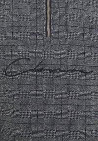 CLOSURE London - PANELLED CHECKED TRACKTOP - Sweatshirt - charcoal - 3