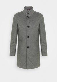 SOLID STAND UP COLLAR COAT - Klasický kabát - grey