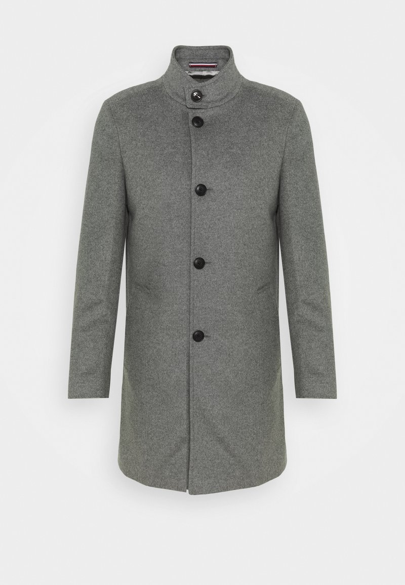Tommy Hilfiger Tailored - SOLID STAND UP COLLAR COAT - Cappotto classico - grey
