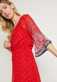 Cream - NALITACR DRESS - Robe longue - aurora red - 6