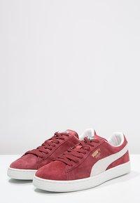 Puma - SUEDE CLASSIC+ - Sneakers - bordeaux/beige - 2
