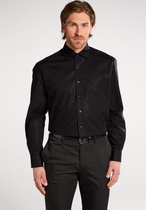 REGULAR FIT - Camicia elegante - schwarz