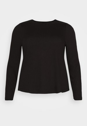 PCSARANA - Long sleeved top - black