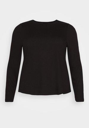 PCSARANA - Topper langermet - black