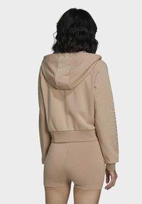 adidas Originals - Zip-up sweatshirt - beige - 1