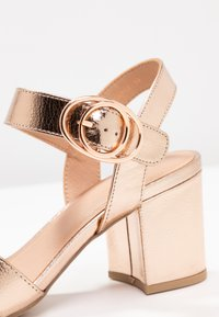 New Look Wide Fit - WIDE FIT TUCKER - Sandals - rose gold - 2