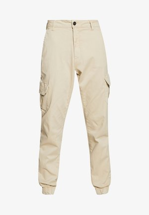 LADIES HIGH WAIST CARGO - Pantalones cargo - concrete