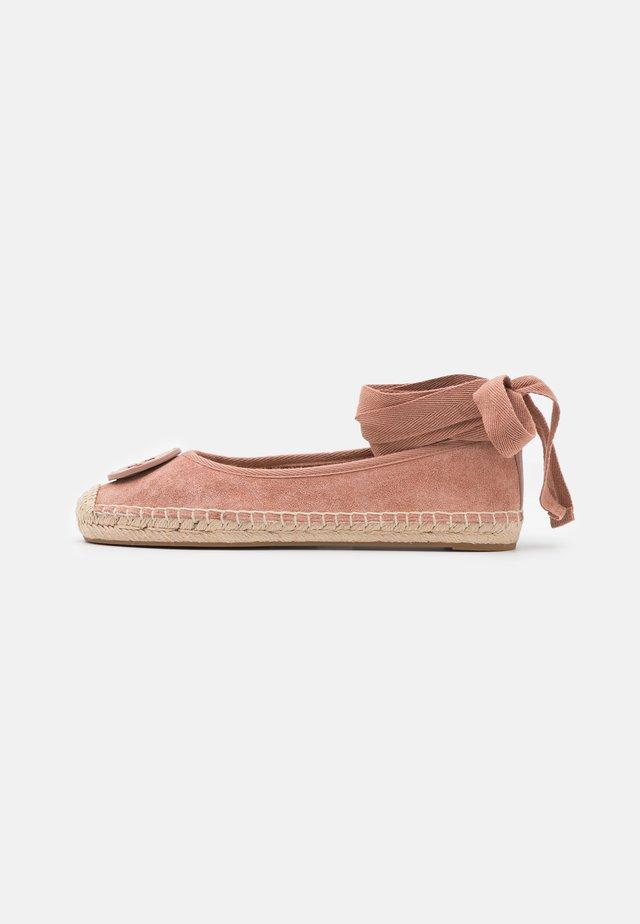 MINNIE BALLET - Ankle strap ballet pumps - malva