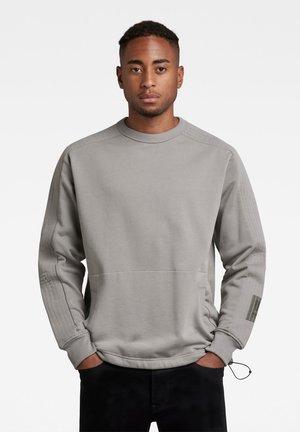 STITCH PANEL R SW - Sweatshirt - charcoal