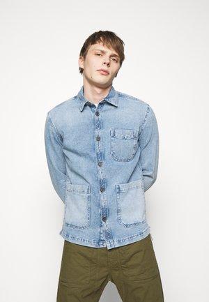 LAWEE - Denim jacket - mottled blue