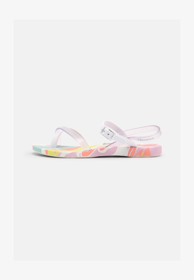FASHION SAND VII KIDS - Varvassandaalit - white/clear/pink