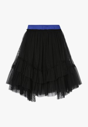 BAMBINAIA GONNA PLUMETIS - A-line skirt - black
