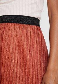 YAS - YASALURA SKIRT - A-line skirt - rooibos tea - 4