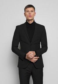 Limehaus - SUIT SLIM FIT - Suit - black - 0