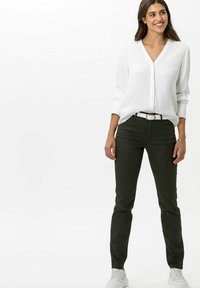 BRAX - STYLE SHAKIRA - Jeans Skinny Fit - clean dark olive - 1