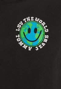 Tommy Jeans - US LUV THE WORLD HOODIE UNISEX - Felpa - black - 2