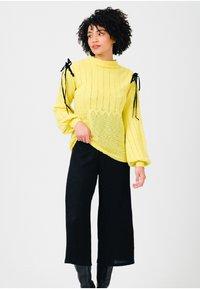 Solai - Jumper - celery yellow - 3
