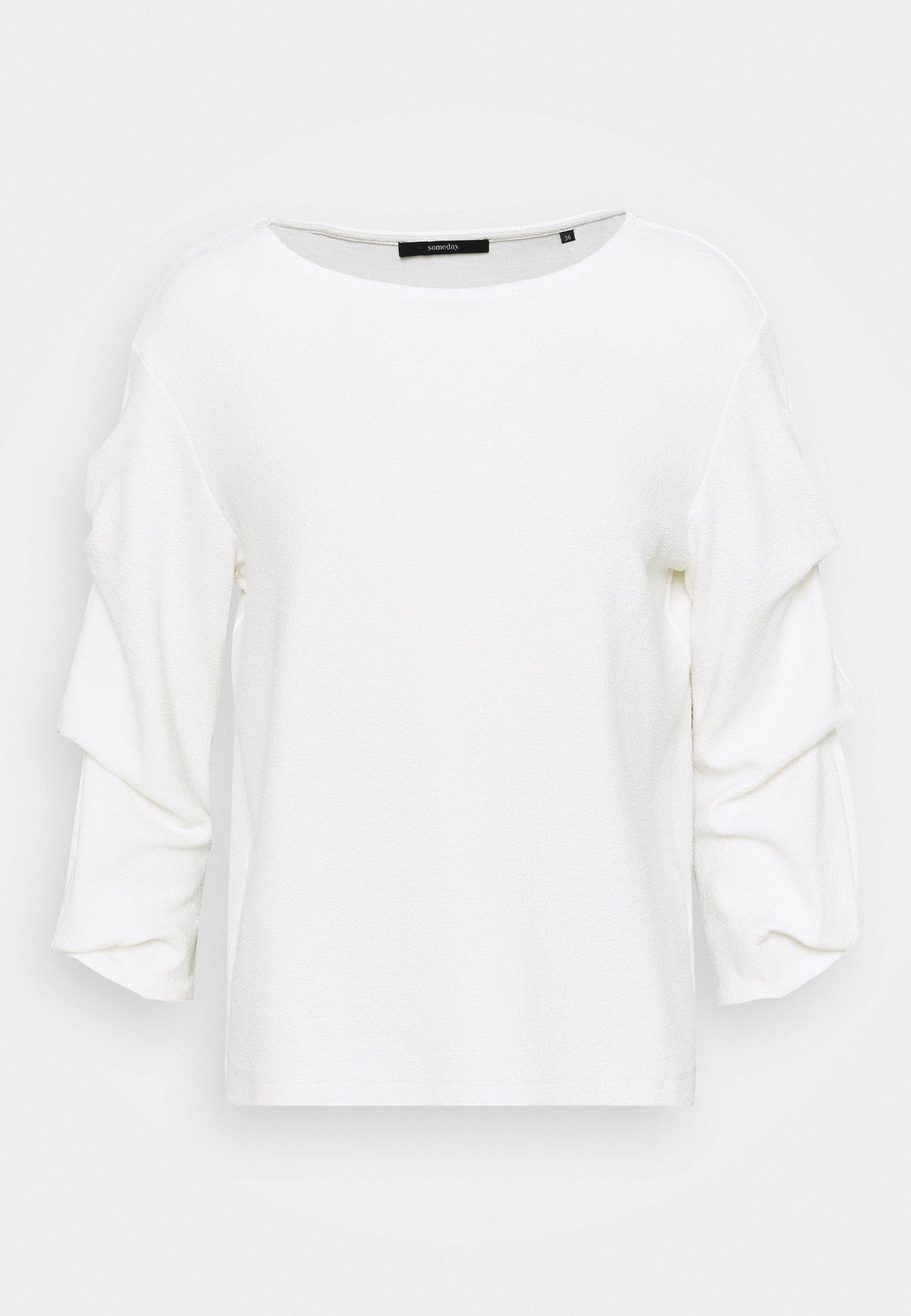 Women KASONDA SOLID - Long sleeved top