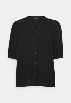 VMJANE SHIRT - Blouse - black