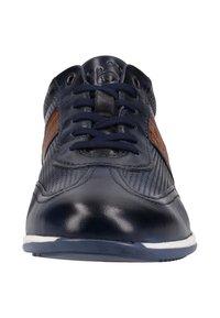 Bugatti - Trainers - dark blue/cognac - 5