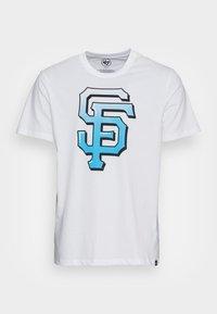 '47 - SAN FRANCISCO GIANTS BACKER ECHO - T-shirt print - white wash - 3