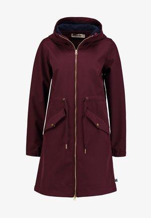 MARIANNE - Waterproof jacket - darkk bordeaux