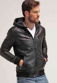 Oakwood - JIMMY - Leather jacket - noir - 0